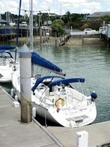 Boheme at the dock