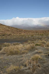 The mountains of Tongariro National Park