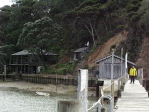 Lin and Larry Pardey's Kawau Island home