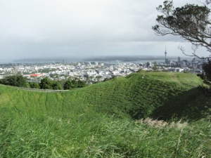 You can see Auckland well from Mount Eden